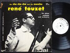 RENE TOUZET His Piano Conjunto Cha Cha Cha And The Mambo LP GENE NORMAN Vol.14