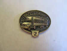 Roadway 2yr Trucking Truck Driver Employee Safety Award Pin