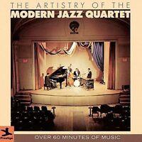 Artistry of the Modern Jazz Quartet CD over 60 minutes of music! Prestige USA
