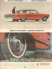 1963 Mercury Monterey S-55 color 10x13 - Classic Car Advertisement Print Ad LG20