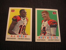 2013 TOPPS CINCINNATI BENGALS *1959 MINI* TEAM SET 2 CARDS  ANDY DALTON +