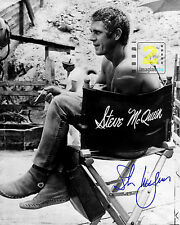 "Steve McQueen 8""x 10"" Great Signed B&W PHOTO REPRINT"