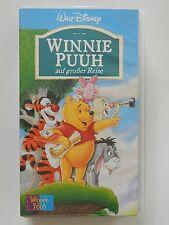VHS Video Kinderfilm Walt Disney Winnie Puuh auf großer Reise +