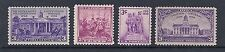 US 1938 Complete Commemorative Year Set of 4, MNH - 835 836 837 838*