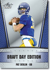 "PAT DEVLIN 2011 LEAF ""DRAFT DAY EDITION"" ROOKIE CARD! DELAWARE BLUE HENS!"
