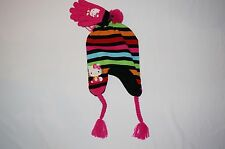 NWT HELLO KITTY knit hat Girl ONE SIZE FITS MOST (4T-16?) multi color