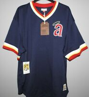 Mitchell & Ness California Angels Baseball Jersey New Mens Sizes MSRP $90