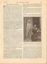 1913 RUMANIA'S CLAIM TO A SLICE OF BULGARIA+KING CHARLES, QUEEN CARMEN SYLVA