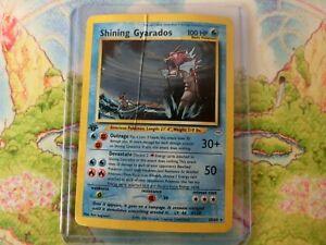 1st Edition Shining Gyarados  - 2001 Pokemon Neo Revelation 65/64 Holo Vintage
