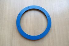 MECCANO PAIR OF No.167b MED BLUE FLANGED RINGS 9 7/8""