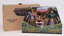 MOTU Snake Armor He-Man King Hssss Masters of the Universe Classics Battle Hiss