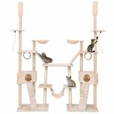 Large Cat Tree Multi-Level Activity Tower Condo Hammock Deluxe Scratch Post Rope