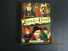 Hollywood Legends Of Horror Collection 3xDVD Box Set Used! 2006 Warner 6 FILMS
