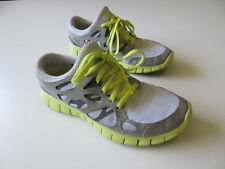 Women's NIKE 'Free Run+ 2' Sz 8 US Runners Grey Yellow ExCon | 3+ Extra 10% Off