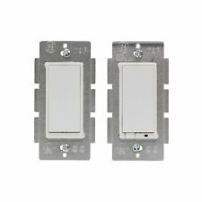 GE Z-Wave Lighting Control Wireless Incandescen CFL 3-Way On/Off Kit-Open Box