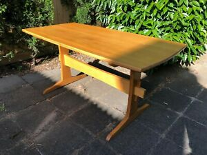 Designer Dining Table Recycled French Oak Solid Timber Wedge Mortise & Tenon