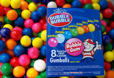 850 Assorted 1 Dubble Bubble Gumballs Fresh Bulk Vending Gum Ball Party Bulk