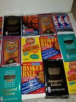 Seventy Two  (72) NEW AND UNOPENED Vintage NBA Basketball CARDS-FAST SHIP  Bonus