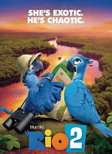RIO 2 BLU-RAY 3D (DISC ONLY) - AUTHENTIC US RELEASE