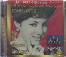 La Sonora Santanera & Sonia Lopez 2CD's Mis 30 Mejores Canciones - SHIPS NOW