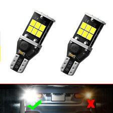 LED Backup Light Bulbs High Power 912 921 T15 W16W Back Up Lights Reverse Light
