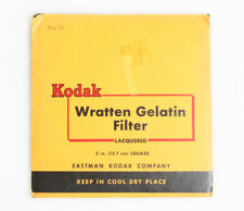 KODAK 5 INCH WRATTEN GEL ASSORTED COLOR FILTERS