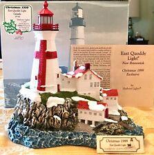 Harbor Lights Collectors LighthouseEast Quoddy Light, Nb