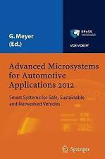 Advanced Microsystems for Automotive Applications 2012: Smart Systems for Safe,