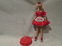 COCA-COLA WAITRESS BARBIE  1997