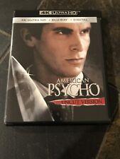 American Psycho (4K Ultra Hd, Blu-ray, Digital, 2018) Uncut Version