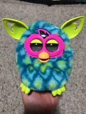2013 Hasbro Furby Boom Blue/Green/pink Peacock RARE Interactive
