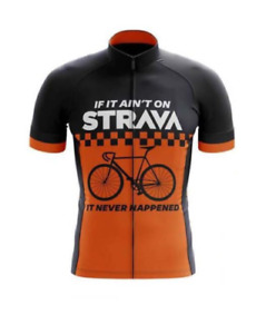 Cycling jersey / Top Strava Short sleeve cycling jersey, Slight 2'nds Bargain,