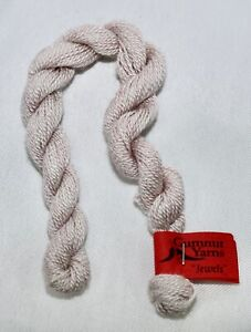 "Gumnut Yarns ""Jewels"" 25m 100% pure silk hand dyed Ruby Lt - light pink"