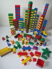 Duplo by Lego 250+ PCS Massive Lot Blocks Cars Figures Animals Building Toddler