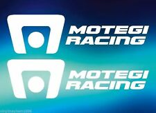 Two Motegi Racing Wheels Vinyl Stickers decals imports show street track rims