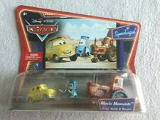 Disney Pixar Cars Movie Moments  Luigi, Guido, and Tractor Die Cast New/Sealed