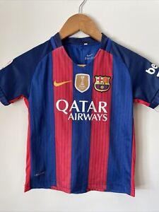 Kids Barcelona Jersey Nike Dri Fit laliga
