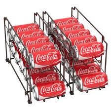 2 Pack  Soda Can Rack Organizer, Canned Food Beverage Dispenser Storage Holder