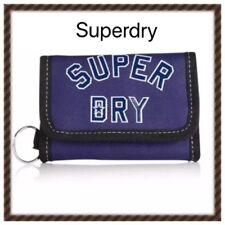 Superdry Wallet Ligue américaine Bi Fold Portefeuille Notes Pièces Clé Titulaire École Uni