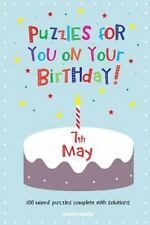 Puzzles for You on Your Birthday - 7th May by Clarity Media (2014, Paperback)