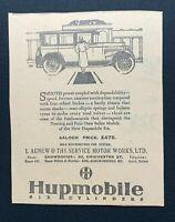 1926 Newspaper Clipping HUPMOBILE CARS, THE SERVICE MOTOR WORKS LTD, BELFAST