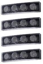 4x Cabin Roof White 24V LED Sun Visor Lights for SCANIA R P G series replace C8