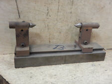 Machinist Made Small Bench Center Jig Fixture Tooling With Dovetail Way Lot B