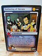 DBZ CCG DRAGON BALL Z GATHERING OF HEROES GB7 ULTRA RARE FOIL PROMO CARD SCORE
