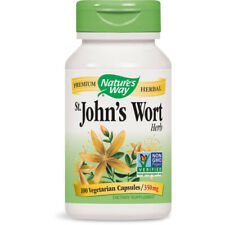NATURES WAY - St. Johns Wort Herb 350 mg - 100 Capsules