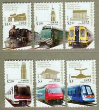 Hong Kong 2010 Centenary of Railway Stamps - Train