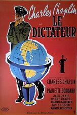Der große Diktator - The Great Dictator (1940) | Import Filmplakat, Poster