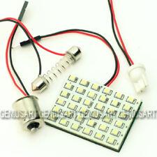36 LED Panel+ Adapter BA15S + T10 + 36-42mm Sofitte Soffitte mit Klebeband Weiß