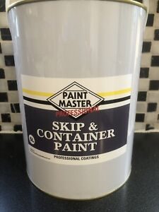 GREEN 5 LTS SKIP AND CONTAINER POLYURETHANE OIL BASED PAINT ALL COLOURS