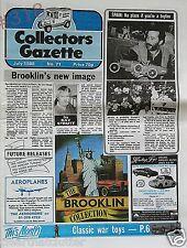 Corgi Trams and Classics ... Collectors Gazette July 1988 No. 71